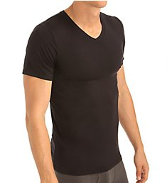 Obviously Essence V-Neck Short Sleeve Undershirt Y43611