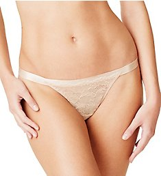 OnGossamer Beautifully Basic Lace Thong G2050