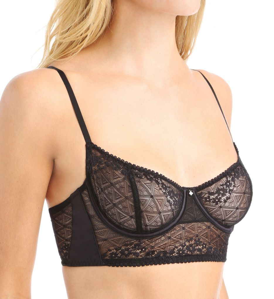OnGossamer Beautifully Basic Lace Balconette Bra G4001