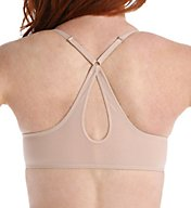 OnGossamer Mesh Front Close Racerback Push Up Bra G9025