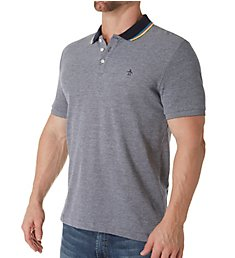 Original Penguin Striped Collar Fashion Polo OPK8023