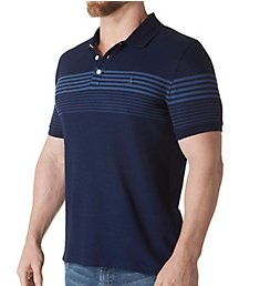 Original Penguin Vintage Indigo Striped Polo OPK8079
