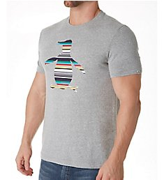 Original Penguin Striped Penguin Logo T-Shirt OPK8405