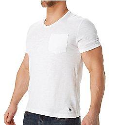 Original Penguin Bing Short Sleeve V-Neck Shirt OPKB022