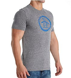 Original Penguin Triblend Circle Penguin Logo T-Shirt OPKB411