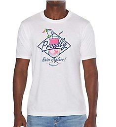 Original Penguin Pride Raise Your Glass Graphic T-Shirt OPKM622