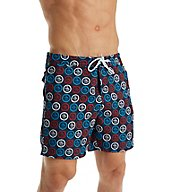 Original Penguin Circle Penguin Logo Volley Swim Short OPS7015