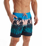Original Penguin Sunset Beach Printed Fixed Volley OPS7020