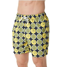 Original Penguin Reversible Lemon Volley Swim Trunk OPS7601