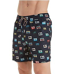 Original Penguin Technical Difficulties Reversible Swim Trunk OPS8000
