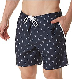 Original Penguin Penguin Fixed Waist Swim Trunk OPSB191