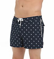 Original Penguin Penguin Print Volley Swim Short OPSB444
