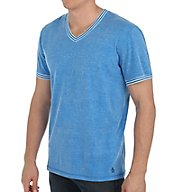 Original Penguin Core Basic Short Sleeve V-Neck Jersey T-Shirt RPM2201
