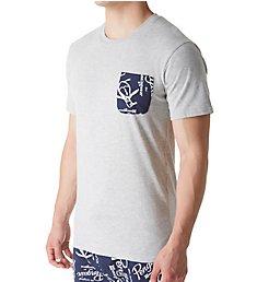 Original Penguin Logo Pocket Short Sleeve Crew Neck T-Shirt RPM2406