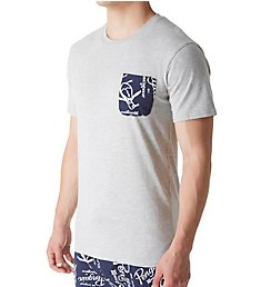Original Penguin Logo Pocket Short Sleeve Crew Neck T-Shirt RPM2406