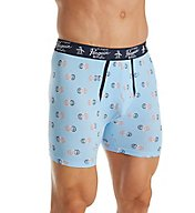 Original Penguin Blue Bell Pete Rings Print Boxer Brief RPM3198