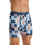 Original Penguin Little Boy Blue Poster Print Boxer Brief RPM3303