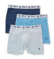 Original Penguin 100% Cotton Boxer Briefs - 3 Pack RPM8201