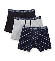 Original Penguin Cotton Stretch Boxer Briefs - 3 Pack RPM8230