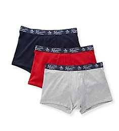 Original Penguin Cotton Stretch Trunks - 3 Pack RPM8332