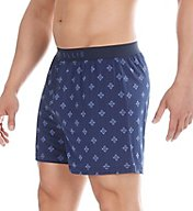 Perry Ellis Luxe North Light Print Boxer Short 163043