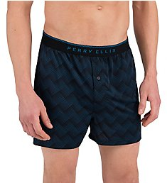 Perry Ellis Luxe Tidal Boxer Short 163073