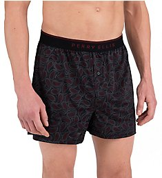 Perry Ellis Luxe Paisley Fill Boxer Short 163076