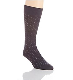 Perry Ellis Microfiber Luxury Small Dot Sock 839679