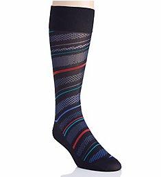 Perry Ellis Microfiber Luxury Stripe Sock 839701
