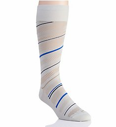 Perry Ellis Microfiber Luxury Stripe Sock 839701