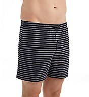 Perry Ellis Cotton Knit Dual Striped Boxer Short 850817