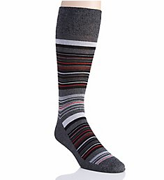 Perry Ellis Superior Soft Luxury Stripe Sock 859213