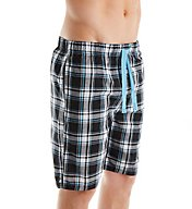 Perry Ellis Woven Plaid Sleep Short 925325