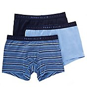 Perry Ellis Portfolio Cotton Stretch Boxer Briefs - 3 Pack 960581