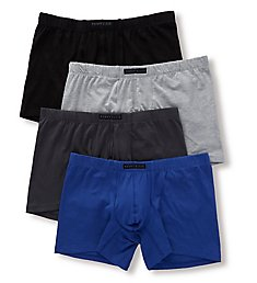 Perry Ellis Cotton Stretch Boxer Brief - 4 Pack 960587