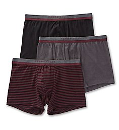 Perry Ellis Cotton Stretch Boxer Briefs - 3 Pack 960594
