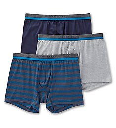 Perry Ellis Cotton Stretch Stripe Boxer Briefs - 3 Pack 960600