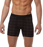 Perry Ellis Luxe Plaid Boxer Brief 960738