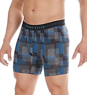 Perry Ellis Luxe Digital Grid Plaid Boxer Brief 960766