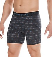 Perry Ellis Luxe Diamond Axis Print Boxer Brief 960768