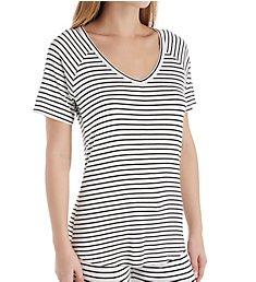 PJ Salvage Basic V-Neck Shirt RIBAT