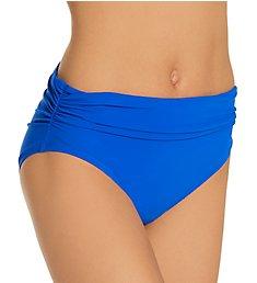 Profile by Gottex Tutti Frutti Shirred Mid Rise Swim Bottom TT1P55