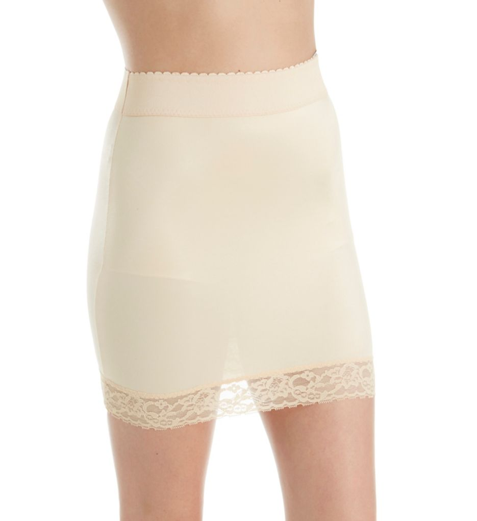 """Rago 13"""" Hip Slip with Attached Panties 107"""