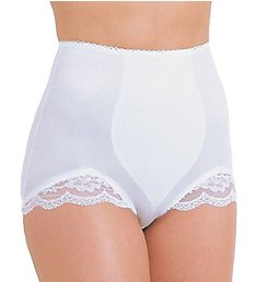 Rago Light Shaping V Leg Brief Panty with Lace 919
