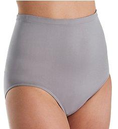 Rhonda Shear Ahh High Waisted Seamless Brief Panty 4230