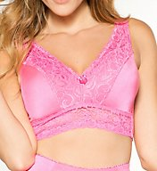 Rhonda Shear Pin Up Lace Leisure Bra w/ Removable Pads 675