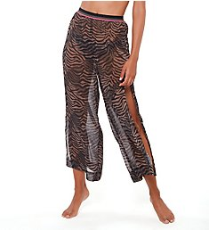 Sanctuary Here Kitty Kitty Slit Side Crop Pant Cover Up HK21812