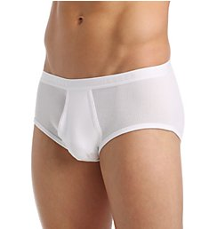 Schiesser Double Rib 100% Cotton Sportslip Sports Brief 005044