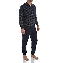 Schiesser Day and Night Single Jersey Pajama Pant Set 159618