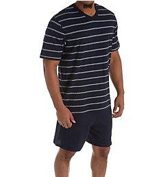 Schiesser Day and Night Jersey Pajama Short Set 159621